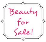 beauty for sale sign