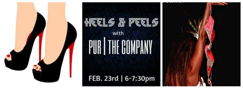 HEELS & PEELS - Workshop