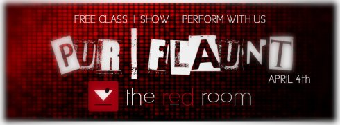 PUR | FLAUNT @ The Red Room