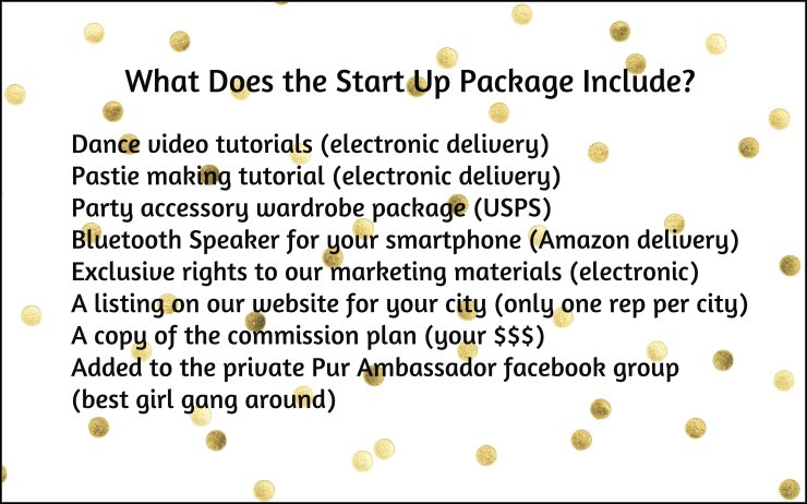 pur ambassador start up pkg